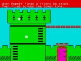 Rupert and the Toymaker's Party ZX Spectrum The second screen