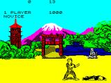 The Way of the Exploding Fist ZX Spectrum Got knocked down