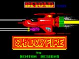 Shadowfire ZX Spectrum Loading screen