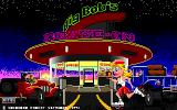 Big Bob's Drive-In DOS The game's title screen