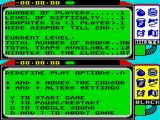 Spy vs Spy ZX Spectrum Main menu