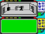 Spy vs Spy ZX Spectrum The Black Spy is beating me to death while I'm desperately searching for the key to hit back.
