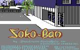 Soko-Ban Commodore 64 Title screen