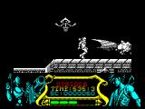 Strider ZX Spectrum Strider is very well drawn and has an impressive attack. The enemies disintegrate nicely too