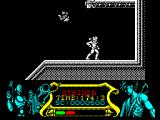Strider ZX Spectrum Having made the leap I'm stuck = Strider cannot jump to the next level - what to do?......