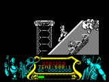 Strider ZX Spectrum Another up hill climb past gun turrets and more soldiers. Strider is really well animated and drawn