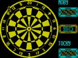 Jocky Wilson's Compendium of Darts ZX Spectrum Playing Football. The player must hit a bullseye or inner. Any doubles hit after that score 1 goal