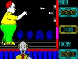 Jocky Wilson's Compendium of Darts ZX Spectrum Jocky's turn to throw