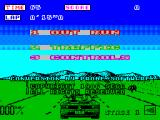 OutRun ZX Spectrum Main menu