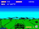 OutRun ZX Spectrum Gentle rolling hills