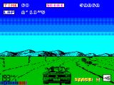 OutRun ZX Spectrum Right turn 193kmh