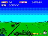 OutRun ZX Spectrum Spin-out from traffic