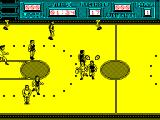 Golden Basket ZX Spectrum Chasing the attacking player
