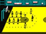 Golden Basket ZX Spectrum The whites have a penalty throw