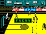 Golden Basket ZX Spectrum It was never a foul! The guy dived.