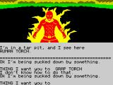 Questprobe: Featuring Human Torch and the Thing ZX Spectrum Torch is on fire