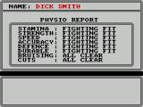 World Championship Boxing Manager ZX Spectrum Dick looks to be in fighting shape