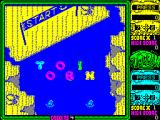Toobin' ZX Spectrum The start of the game