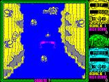 Toobin' ZX Spectrum The croc got Bif. Cans are aimed by pointing feet towards the target, not the head