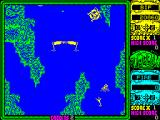 Toobin' ZX Spectrum Another hunter at the top left