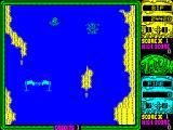 Toobin' ZX Spectrum The big fish has just cost another life. Pressing FIRE restarts in the same place
