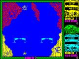 Toobin' ZX Spectrum End of the road. Hunters and killer robots on the same screen