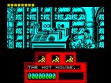 Red Heat ZX Spectrum The first fight. There's more to this than just hammering the punch button, Arnie must duck punches coming at him ...