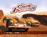 Classic British Motor Racing PlayStation 2 Title screen.