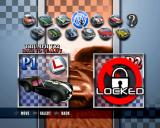Classic British Motor Racing PlayStation 2 Vehicle selection.
