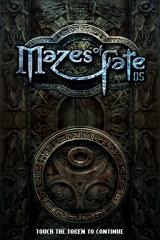 Mazes of Fate Nintendo DS Title screen.