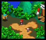 Super Mario RPG: Legend of the Seven Stars SNES This S thing is just a save point