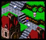 Super Mario RPG: Legend of the Seven Stars SNES Exploring a city