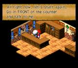 Super Mario RPG: Legend of the Seven Stars SNES Nice attention to detail here :)
