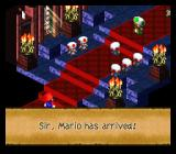 Super Mario RPG: Legend of the Seven Stars SNES Chancelor's palace