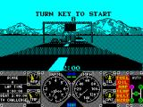 Hard Drivin' ZX Spectrum Then we're back to turning the key again. 2:00 minutes to complete the circuit