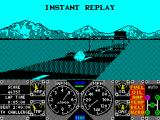 Hard Drivin' ZX Spectrum The instant replay almost gloatingly shows a shunt from behind