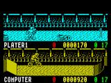 Rad Ramp Racer ZX Spectrum There are bonuses to be collected ....