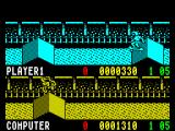 Rad Ramp Racer ZX Spectrum The second leg has different jumps to the first