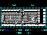 The Ninja Warriors ZX Spectrum ... and he can jump