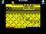 Dynamite Düx ZX Spectrum New enemies include mole men and this sausage dog