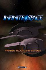 Infinite Space Nintendo DS Title screen.