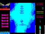 Ajax ZX Spectrum The fighters launch missiles that are best avoided. It may be possible to shoot them down but its something that this player could not accomplish
