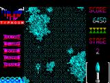 Ajax ZX Spectrum Level 2 is a top down shooter where the player takes control of a helicopter gunship. The game plays the same on both 48 K & 128 K versions