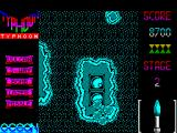Ajax ZX Spectrum There are also gun emplacements - one of which has just totalled the chopper