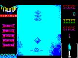 Ajax ZX Spectrum 48 K version : Looks just the same as the 128 K version. Plays just the same as the 128 K version too. Main difference is the sound when the guns fire
