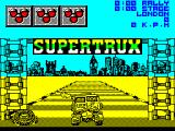 Super Trux ZX Spectrum 128 K version