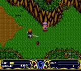 Ruin: Kami no Isan TurboGrafx CD Concentrating on a spell...
