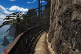 Riven: The Sequel to Myst iPhone A small pathway.