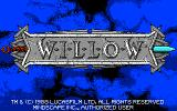 Willow Atari ST Title screen