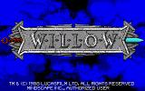 Willow Amiga Title screen